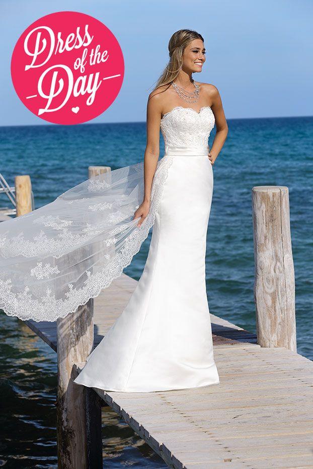'Dress of the Day' by Affinity bridal.  www.inwhiteblog.com www.inwhite.nl