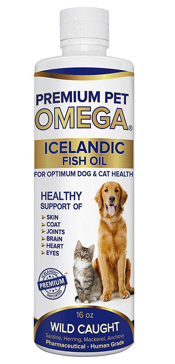Best Natural Wild Caught Fish Oil for Dogs and Cats -Pharmaceutical Grade -Maximum EPA/DHA and Total Omega 3 Nutritional Supplements Superior to Salmon Oil -Benefits Healthy Skin and Coat, Joint, Immune System –Odorless and Tasteless -Satisfaction Guaranteed! > Don't get left behind, see this great cat product : Cat Health and Supplies