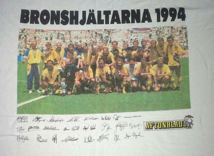 RARITET! Fotboll VM Fotbollströja guldåret -94 på Tradera.