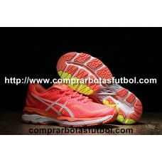 Comprar Zapatillas De Running Asics Gel Kayano 23 Mujer Rosa Blanco Amarillo