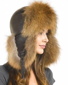 64158f0d9b876 Ladies Coyote Full Fur Russian Hat in 2019