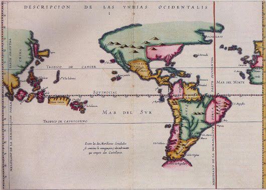 "The Treaty of Tordesillas split the ""New World"" between the two superpowers, ignoring the millions of people already living in established communities i... - National Geographic Education - Google+"