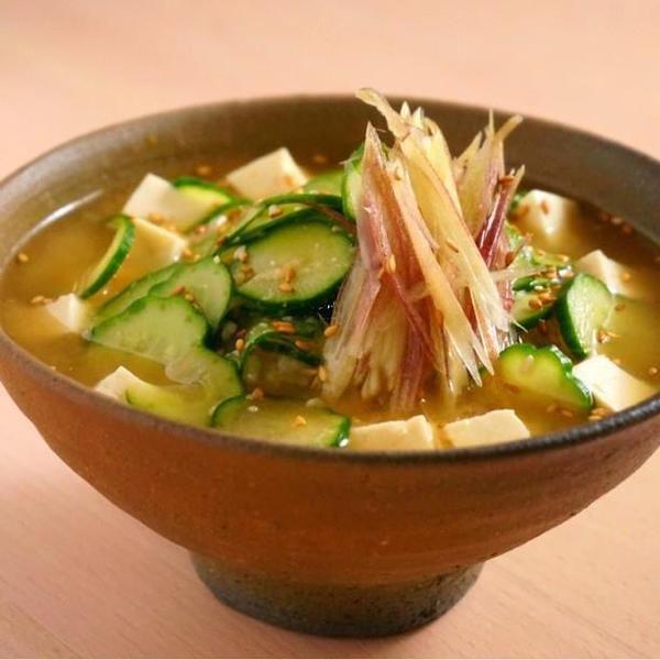 さらっと食べられる「冷やし味噌汁」を暑い日の定番メニューに。 | iemo[イエモ]