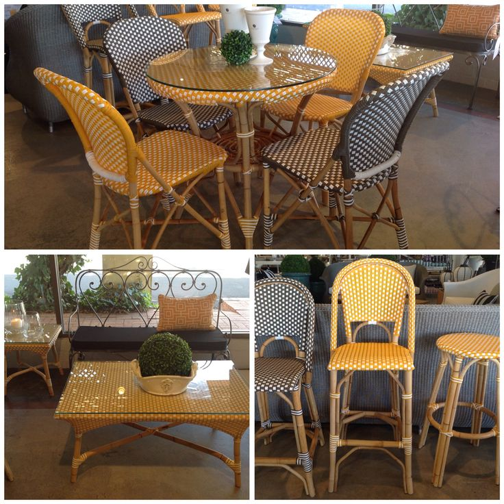 TRES CHIC | Trilogy's Parisian Cafe Range features bistro tables & chairs, bar stools, coffee tables & benches. Now 50% off!  Available Online here http://bit.ly/1RM6QRf or instore at 250 Stirling Hwy Claremont. Hurry! Limited stocks available :)