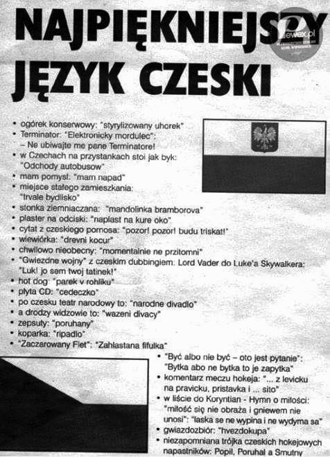 Język czeski – Nie taki trudny jak się wydaje?
