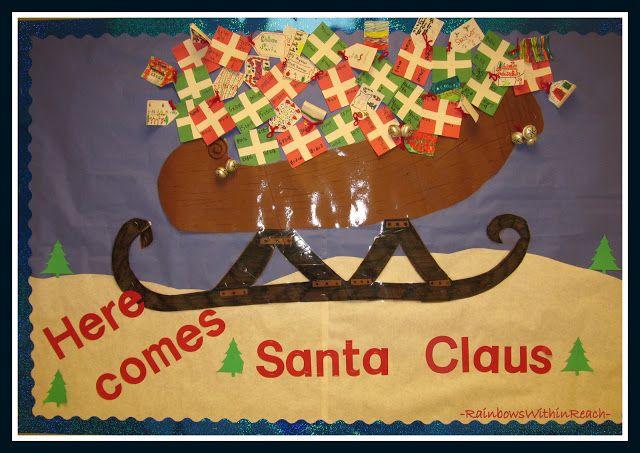 Christmas Season Bulletin Boards