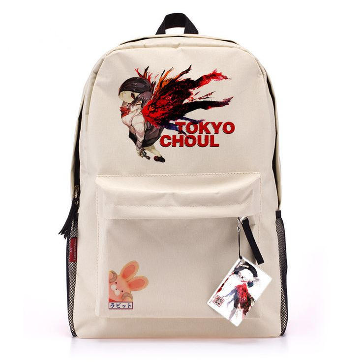 Tokyo Ghouls Canvas Backpack Swissgear Laptop Bags Denim Backpack Knapsack Bolsas Mochila Feminina School Bag Free Shipping