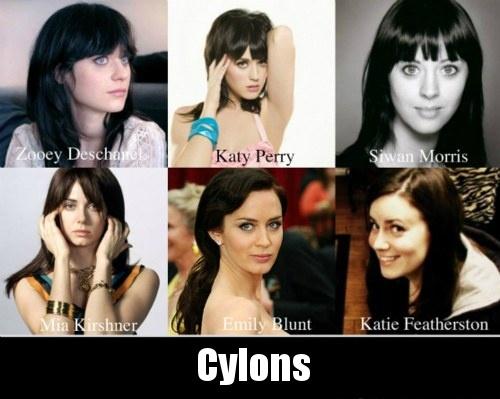 6 look alike celibrities.