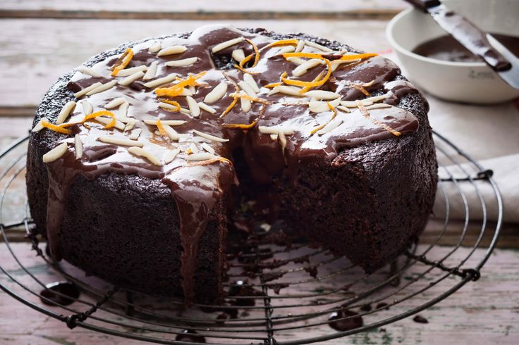 This super rich dark chocolate cake has a bold kick of cayenne pepper. It also happens to be gluten-free, dairy-free, egg-free and free of refined sugar.