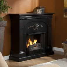 Holly & Martin™ Salerno Gel Fireplace-Black