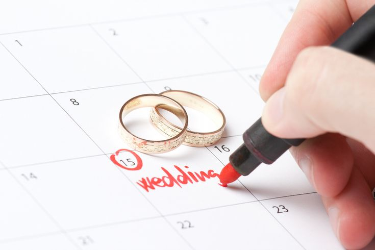 wedding day calendar