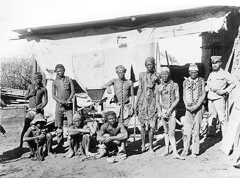 herero genocide It was then that the herero uprising changed from war, to genocide  substantial activity for the herero people in the herero culture the cattle herding and.