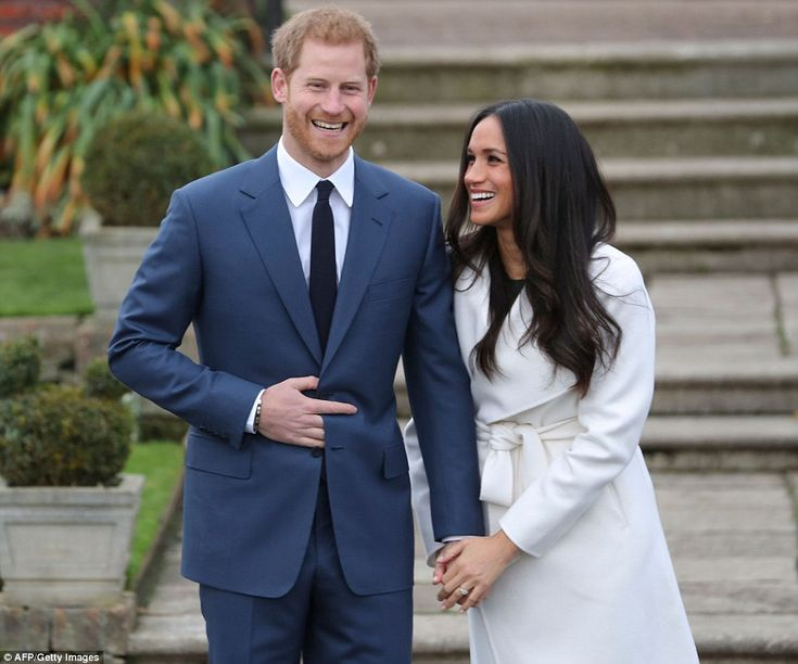 Prince Harry, 33, and Meghan Markle, 36, have today revealed they are engaged after the Queen gave her grandson -who is fifth in line to the throne - permission to marry the star.