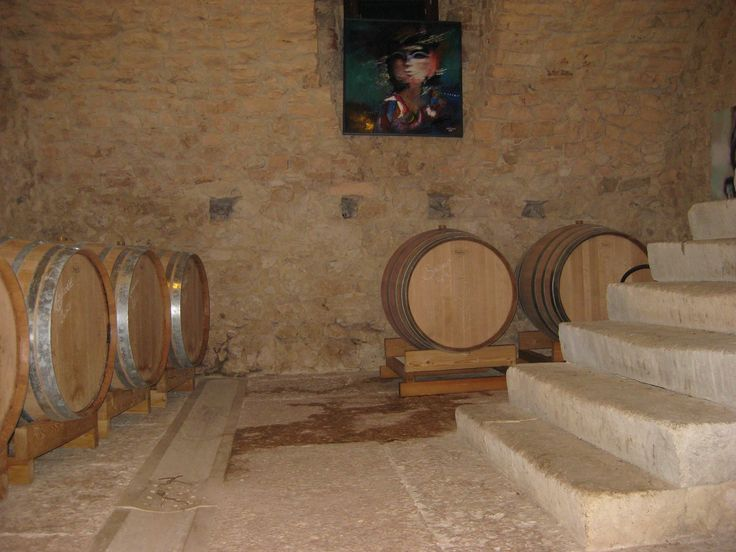 Cellar where we produce Amarone wine