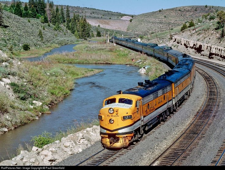 Denver & Rio Grande Western Railroad, Kyune, Utah, June, 1979