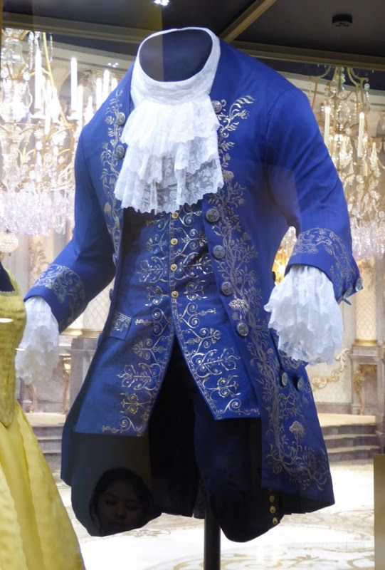 Dan Stevens beast costume Disney's live-action Beauty and the Beast