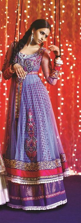 IT'S PG'LICIOUS — #indian fashion #kajal patel #designer #anarkali