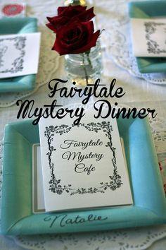 Fairytale Mystery Dinner | Let's Explore