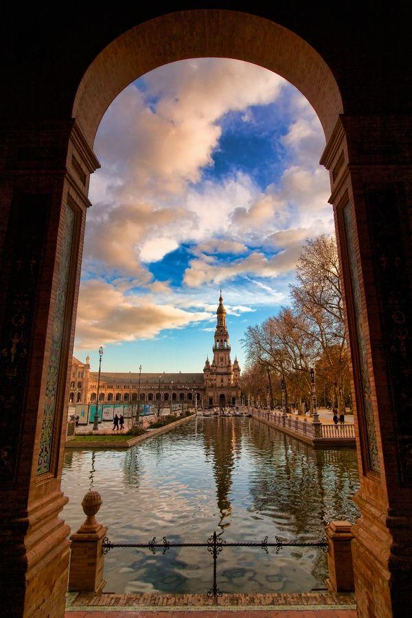 Arco de Plaza de España de Sevilla