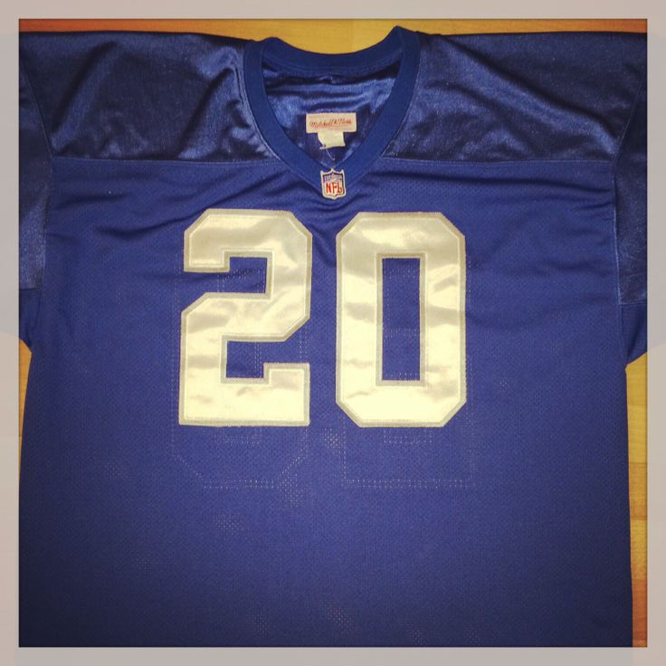 Barry Sanders Detroit Lions Mitchell & Ness Jersey