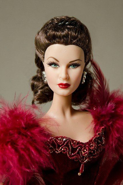 Vivien Leigh Scarlett O'hara Gone With The Wind barbie Doll