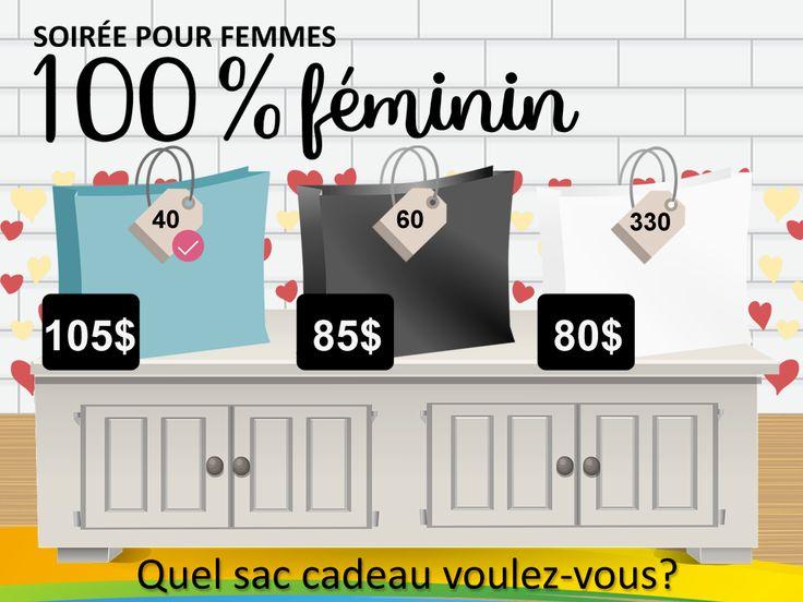 Soirée 100% FÉMININ !