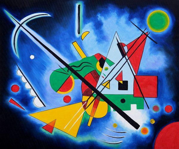 Visioni | immagin : Vasilij Kandinskij (1866-1944) | Visita il sito per leggere il racconto!