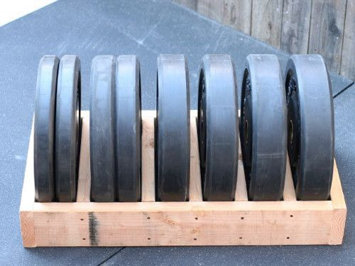 Diy bumper plate storage box very simple to make