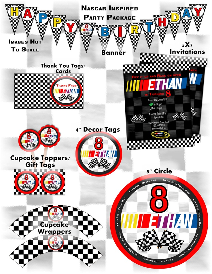 9 best Nascar party food images on Pinterest | Birthday parties ...