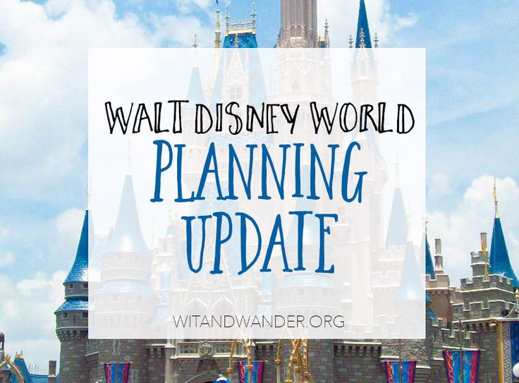 Disney World Countdown: 5 Month Planning Update - This month I shared the ONE Christmas gift I am so excited to use on our Walt Disney World Vacation. Wit & Wander