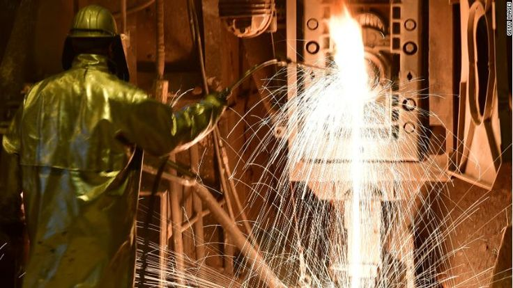 Steel: Europe could hit Harleys, bourbon and Levi's in response to 'incomprehensible' tariffs