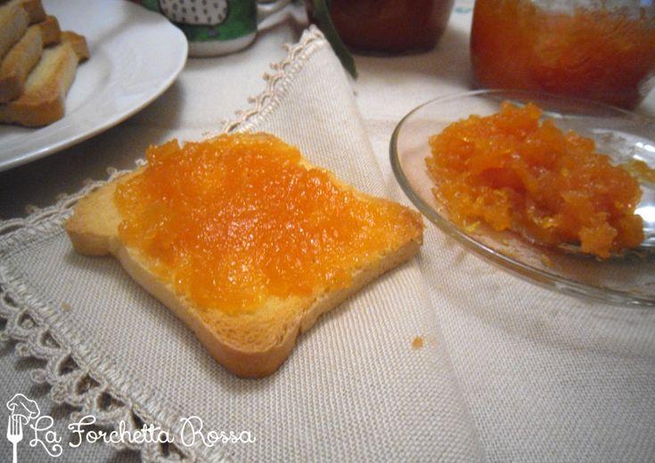 La Forchetta Rossa: Marmellata di arance e carote