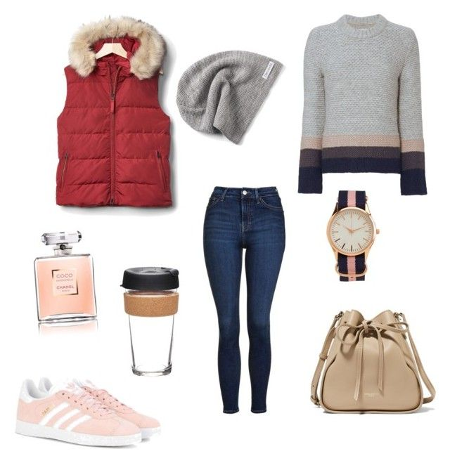 """""""Untitled #56"""" by portuguesegreeneyes on Polyvore featuring Gap, Topshop, Brochu Walker, adidas Originals, Nina Ricci, Converse, Aéropostale and KeepCup"""