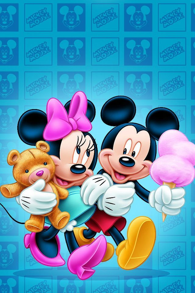 Mickey and minnie                                                       …