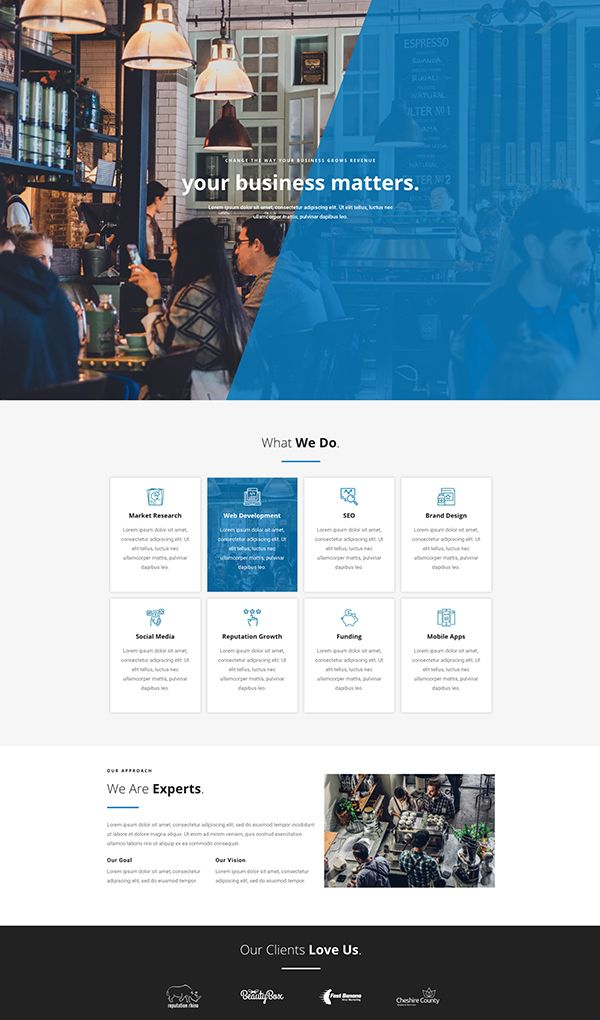 Elementor Template Free Download Website Design Landing
