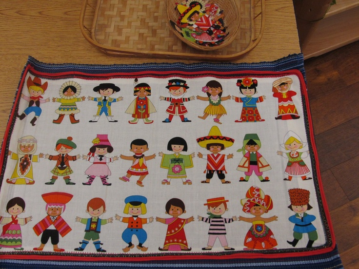 Children of the world fabric matching cut the images out for Children of the world fabric