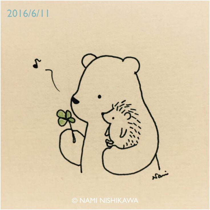 Easy Cute Bear Drawing The 25+ best Hedgehog ...