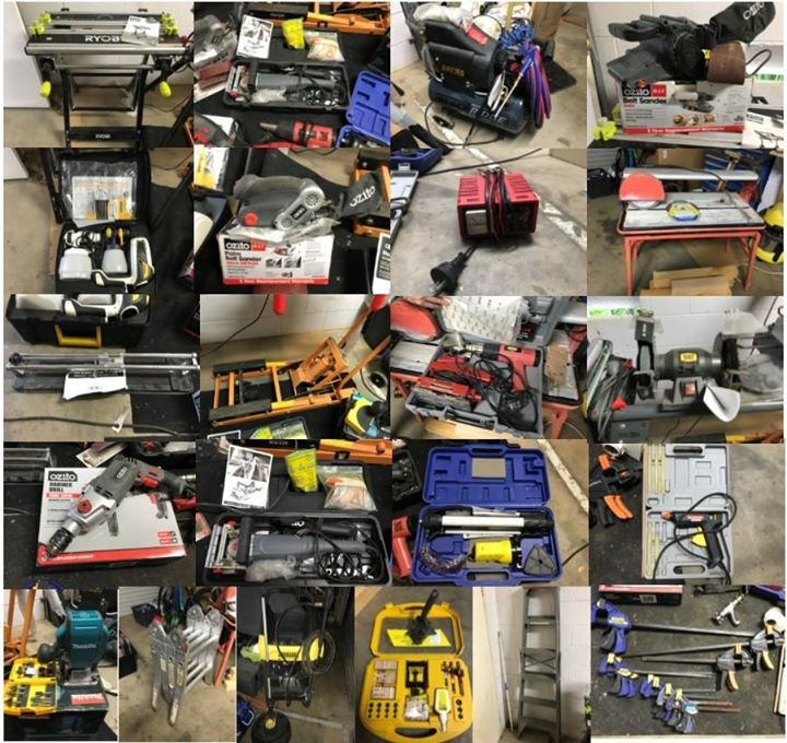 Tools for sale due to relocation interstate..... Makita