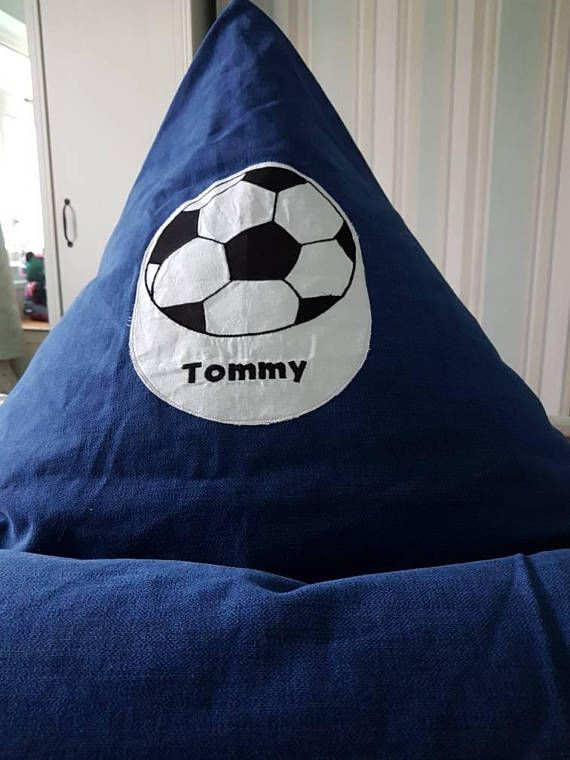 Check out this item in my Etsy shop https://www.etsy.com/uk/listing/572921507/football-bean-bag-chairchilds