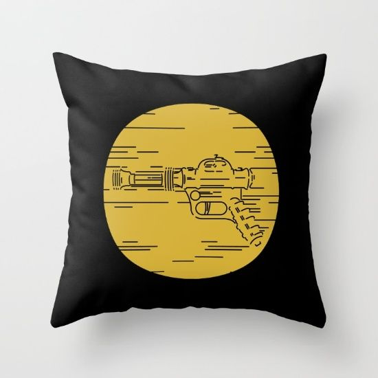 Pew pew pew! Throw Pillow