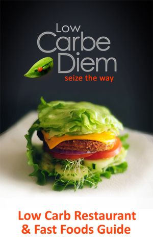 Low Carb Restaurant Fast Foods Guide Cover- free download.