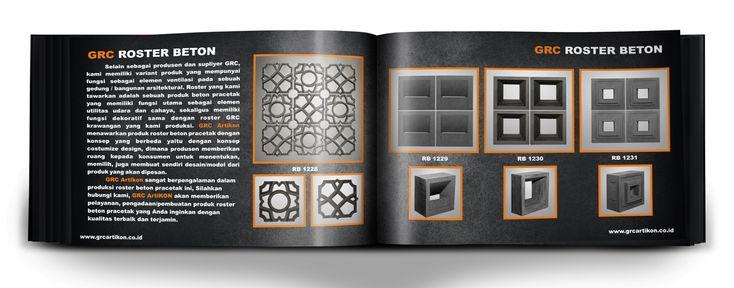 Katalog produk GRC ARTIKON 2016 dilauncing pada januari tahun 2016 ini, dalam memenuhi permintaan konsumen akan pilihan motif GRC yang kami produksi.