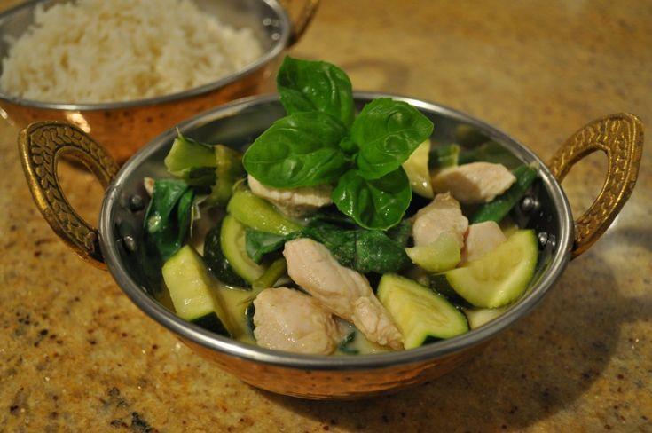 Thai Green Chicken Curry by Michelle Bridges