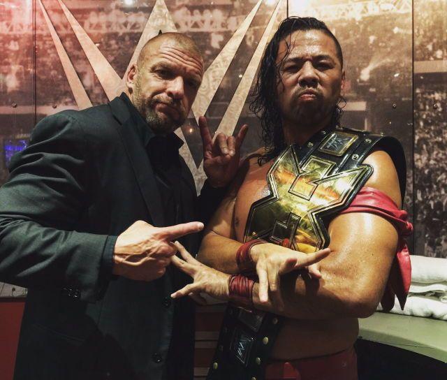 Triple H and Shinsuke Nakamura
