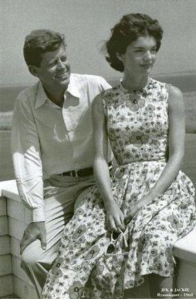 Jackie Kennedy in Marimekko  #pintofinn