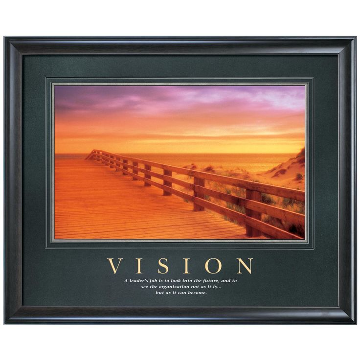 Vision Boardwalk Motivational Poster | Office | Pinterest ...