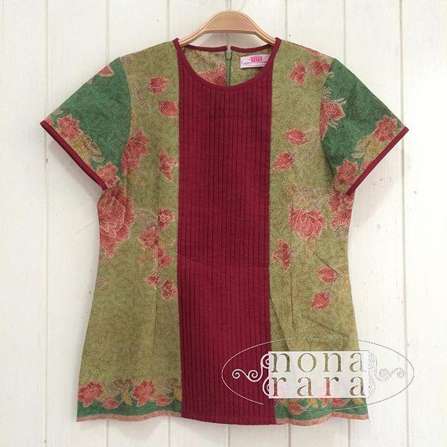 88cm Fabric: Batik Encim Pekalongan