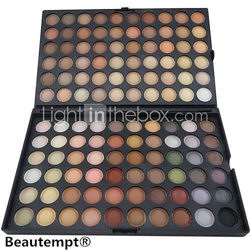 120 Colors Professional Eyeshadow Matte/Dry Powder Makeup Cosmetic Palette Smokey makeup/party makeup - USD $ 9.49