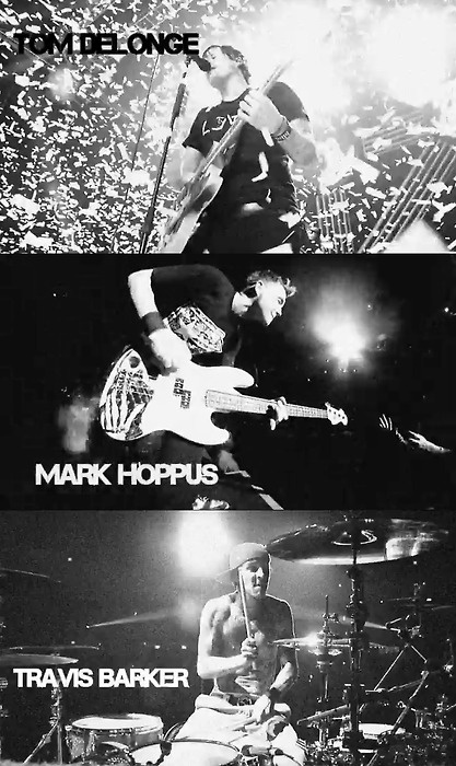 Blink-182. Easily one of my favourite bands :)