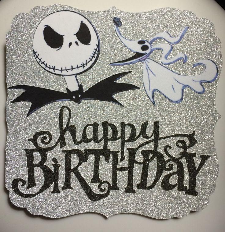 Prime Happy Birthday Jack Skellington Card Homemade Cards Funny Birthday Cards Online Ioscodamsfinfo